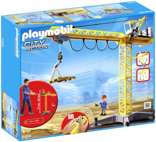Playmobil City Action Large Crane Set #5466
