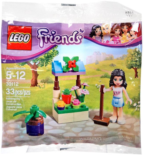 LEGO Friends Emma's Flower Stand Mini Set #30112 [Bagged]