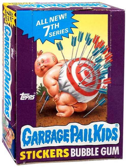 Garbage Pail Kids Original 1980's Series 7 Wax Box