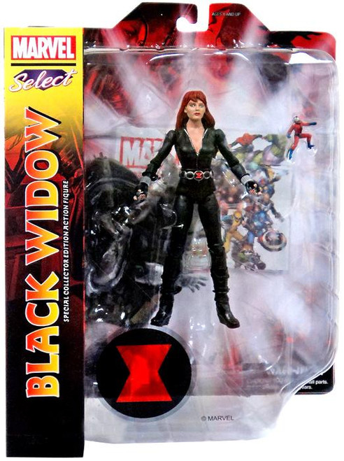 Marvel Select Black Widow Exclusive Action Figure [Black Uniform]