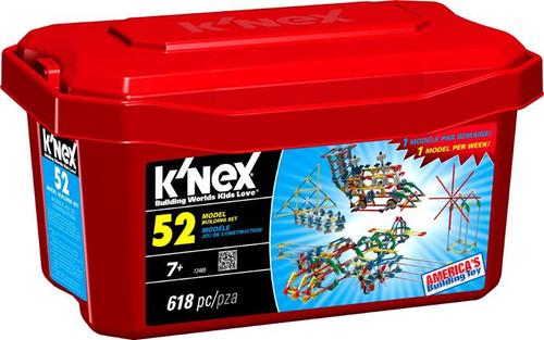 K'Nex 52 Model Set #13465 [Red]