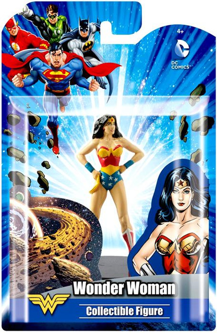 DC Wonder Woman 4-Inch Collectible Figure