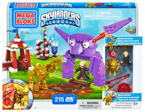 Mega Bloks Skylanders Cut Throat Carnival Set #95486
