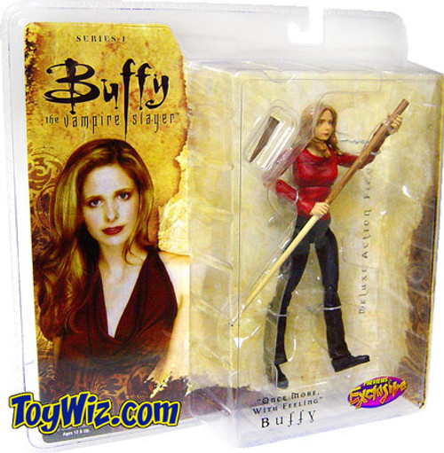 Buffy The Vampire Slayer Series 1 Buffy Exclusive Action Figure [Once More With Feeling]