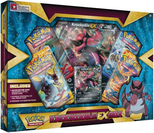 Pokemon XY Special Edition Krookodile EX Box
