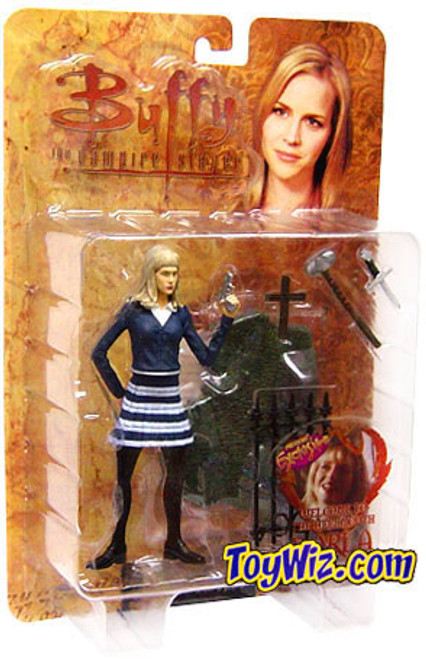 """Buffy The Vampire Slayer Series 2 Darla Action Figure [""""Welcome to the Hellmouth"""" School Girl]"""