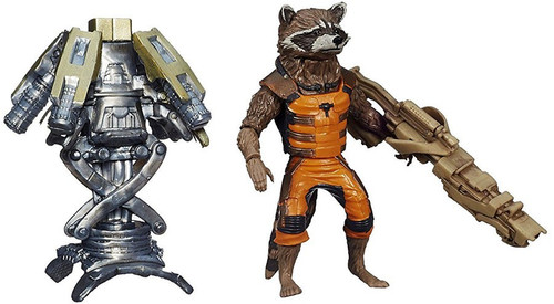 Guardians of the Galaxy Marvel Legends Groot Series Rocket Raccoon Action Figure [Loose no Groot Piece]