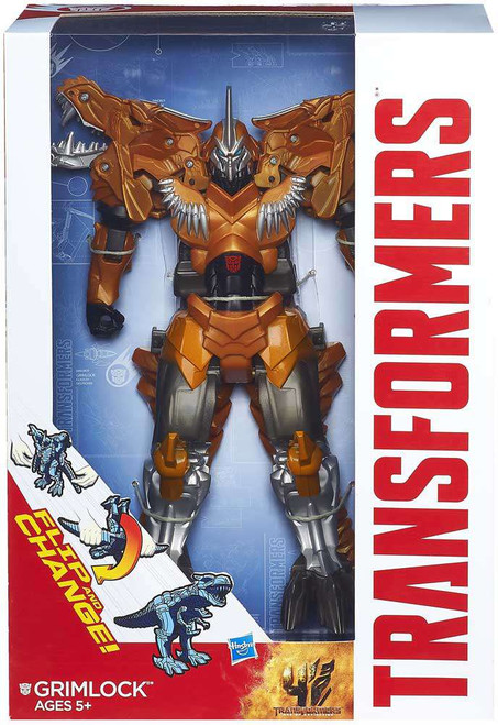 Transformers Age of Extinction Flip & Change Grimlock Action Figure [Flip & Change]