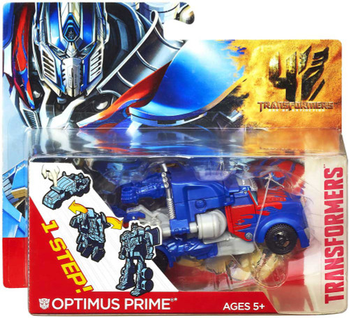 Transformers Age of Extinction 1 Step Changer Optimus Prime Action Figure