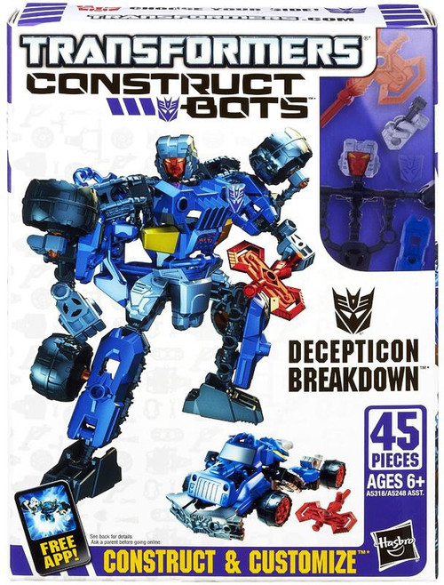 Transformers Construct-A-Bots Decepticon Breakdown Action Figure