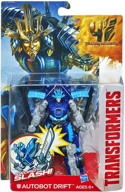 Transformers Age of Extinction Power Battler Autobot Drift Action Figure