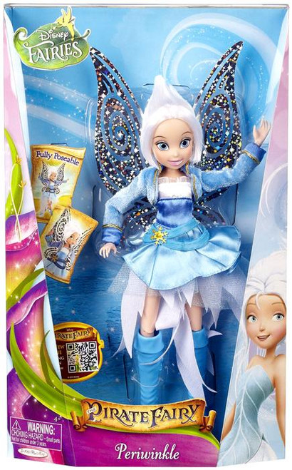 Disney Fairies Pirate Fairy Periwinkle 9-Inch Doll [Blue & White Dress]