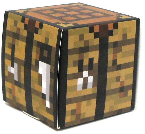 Minecraft Crafting Table Papercraft [Single Piece]