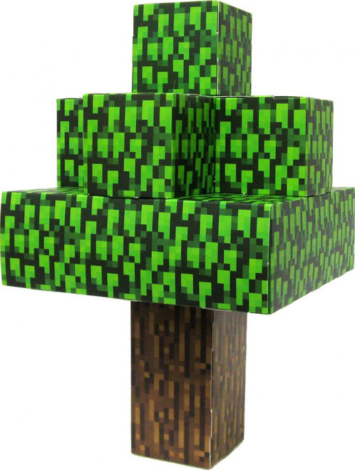 Minecraft Oak Tree Papercraft [Single Piece]