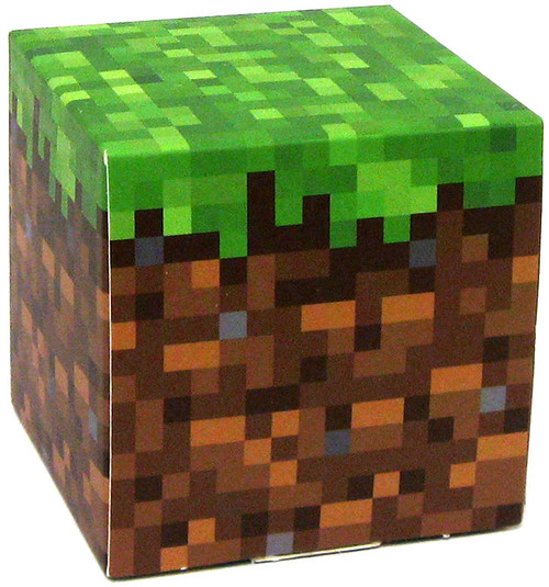Minecraft Grass Block Papercraft [Single Piece]