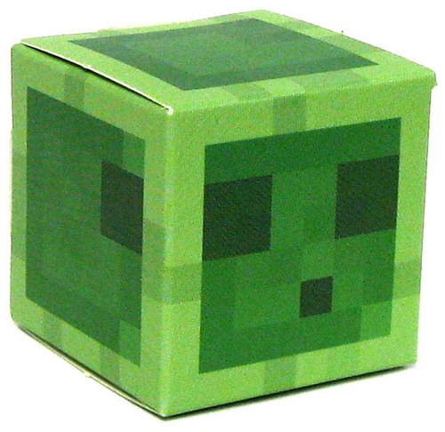 Minecraft Slime Papercraft [Single Piece]