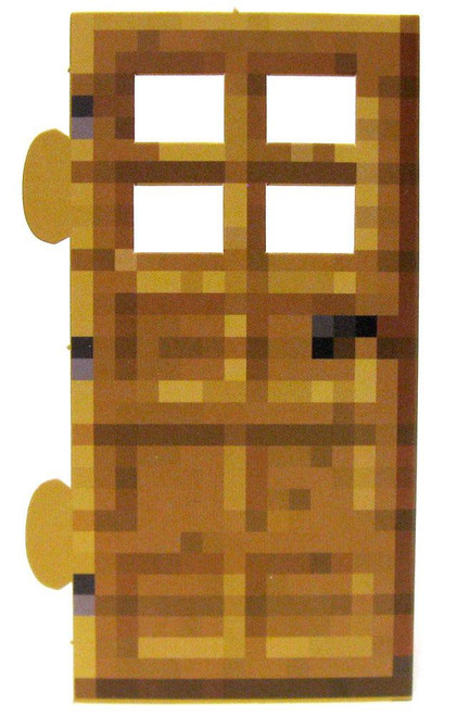 Minecraft Wood Door Papercraft [Single Piece]
