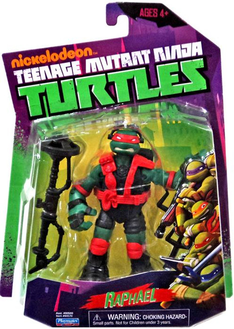 Teenage Mutant Ninja Turtles Nickelodeon Stealth Tech Raphael Action Figure [Without Zip Line]