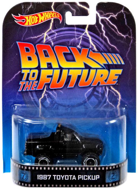 Back to the Future Hot Wheels Retro 1987 Toyota Pickup Diecast Vehicle