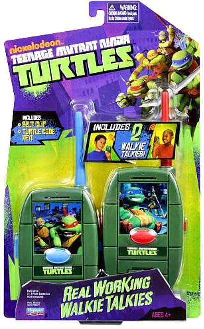 Teenage Mutant Ninja Turtles Nickelodeon Real Working Walkie Talkies