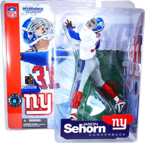 McFarlane Toys NFL New York Giants Sports Picks Series 4 Jason Sehorn Action Figure [Red Socks]