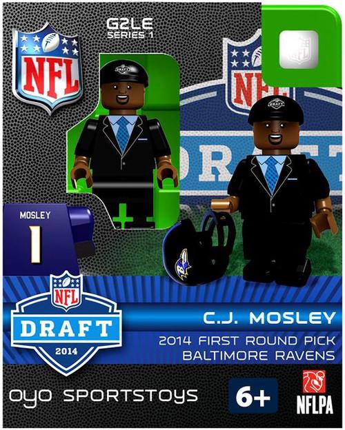 Baltimore Ravens NFL 2014 Draft First Round Picks C.J. Mosley Minifigure