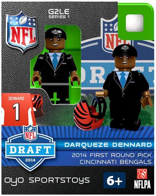 Cincinnati Bengals NFL 2014 Draft First Round Picks Darqueze Dennard Minifigure