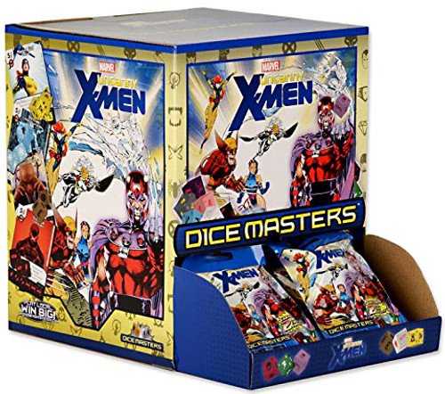Marvel Dice Masters Uncanny X-Men Gravity Feed Booster Box