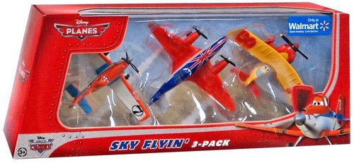 Disney Planes Sky Flyin' Exclusive Diecast Plane 3-Pack