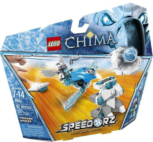 LEGO Legends of Chima Frozen Spikes Set #70151