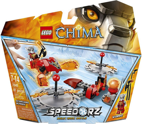 LEGO Legends of Chima Scorching Blades Set #70149