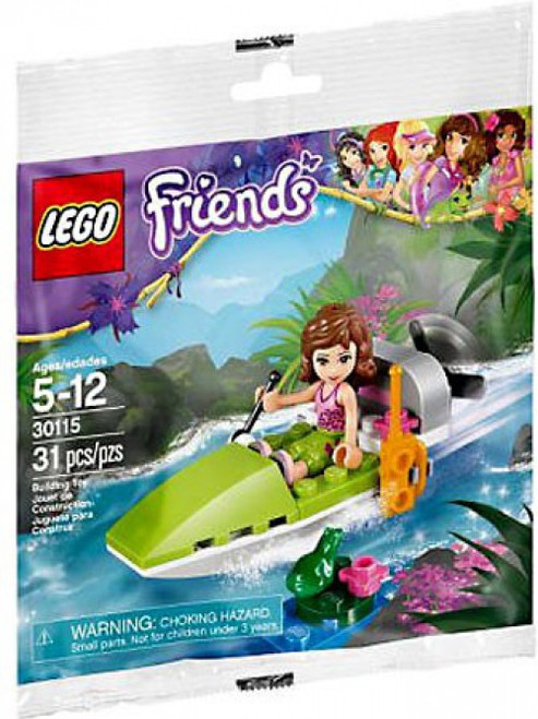LEGO Friends Olivia's Boat Mini Set #30115 [Bagged]