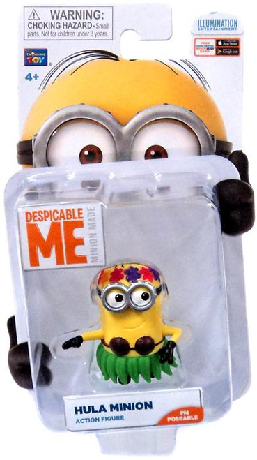 Despicable Me Minion Made Hula Minion Action Figure