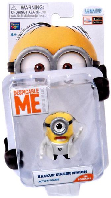 Despicable Me Minion Made Backup Singer Minion Action Figure