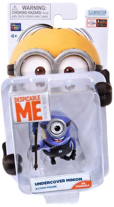 Despicable Me Minion Made Undercover Minion Action Figure