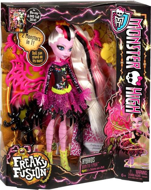 Monster High Freaky Fusion Hybrids Bonita Femur 10.5-Inch Doll