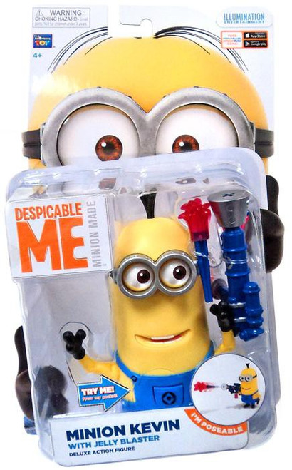 Despicable Me Minion Made Build-a-Minion Minion Kevin Action Figure [Jelly Blaster]