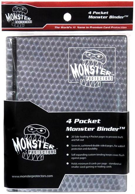 Card Supplies Black Holofoil 4-Pocket Binder