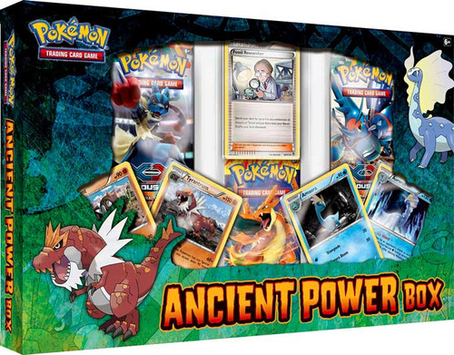 Pokemon XY Special Edition Ancient Power Box