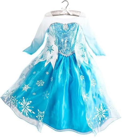 Disney Frozen Elsa Dress Exclusive Dress Up Toy [Size 7/8]