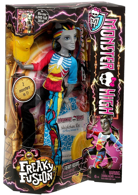 Monster High Freaky Fusion Neighthan Rot 10.5-Inch Doll