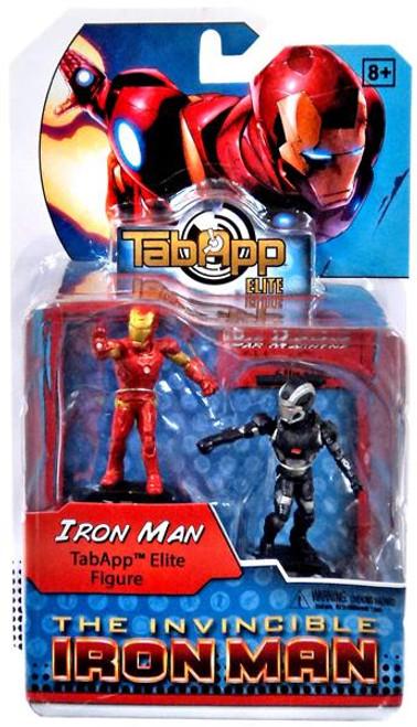 DC HeroClix TabApp Elite Iron Man & War Machine Figure 2-Pack
