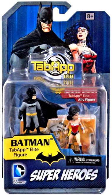 DC TabApp Elite Batman & Wonder Woman Figure 2-Pack