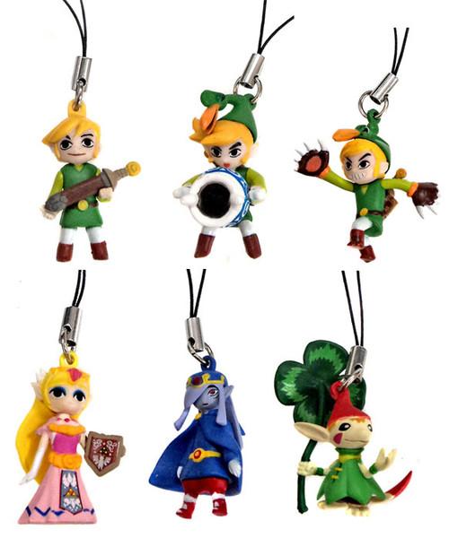 The Legend of Zelda Set of 6 Danglers