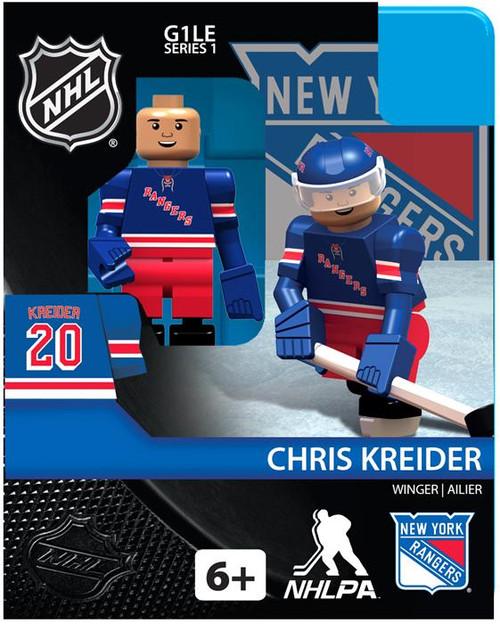 New York Rangers NHL Hockey Generation 1 Series 1 Chris Kreider Minifigure