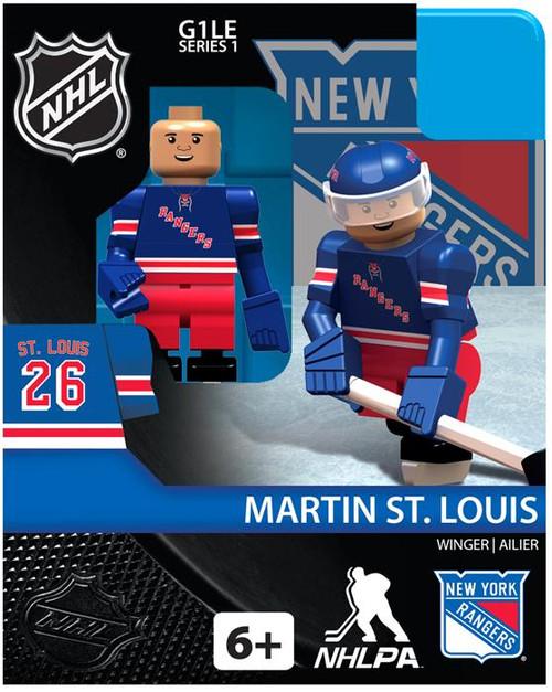 New York Rangers NHL Hockey Generation 1 Series 1 Martin St. Louis Minifigure