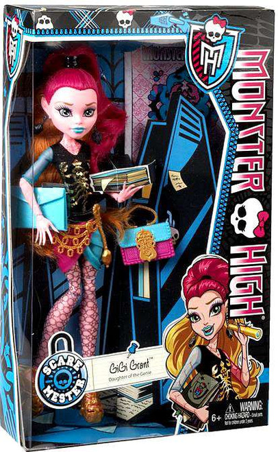 Monster High Scaremester GiGi Grant 10.5-Inch Doll