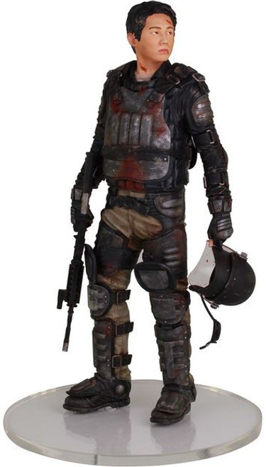 The Walking Dead AMC TV Glenn Statue [Riot Gear]