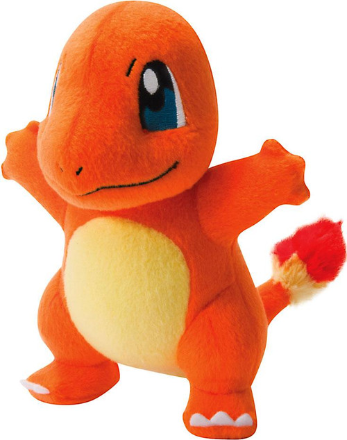 Pokemon TOMY Charmander 8-Inch Trainer's Choice Plush