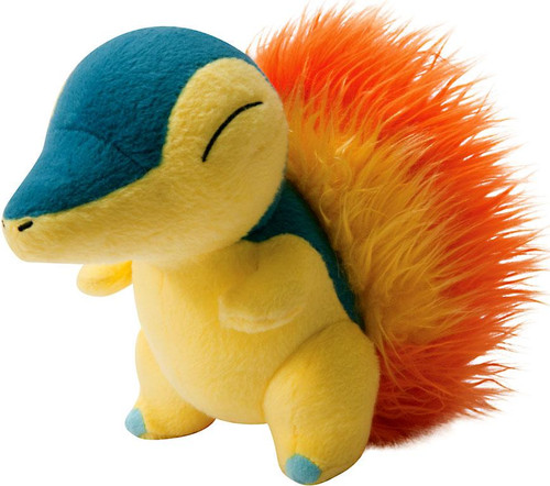 Pokemon TOMY Cyndaquil 8-Inch Trainer's Choice Plush
